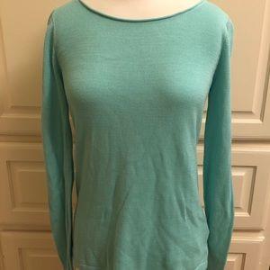 OLD NAVY Aquamarine Scoopneck Sweater- Small
